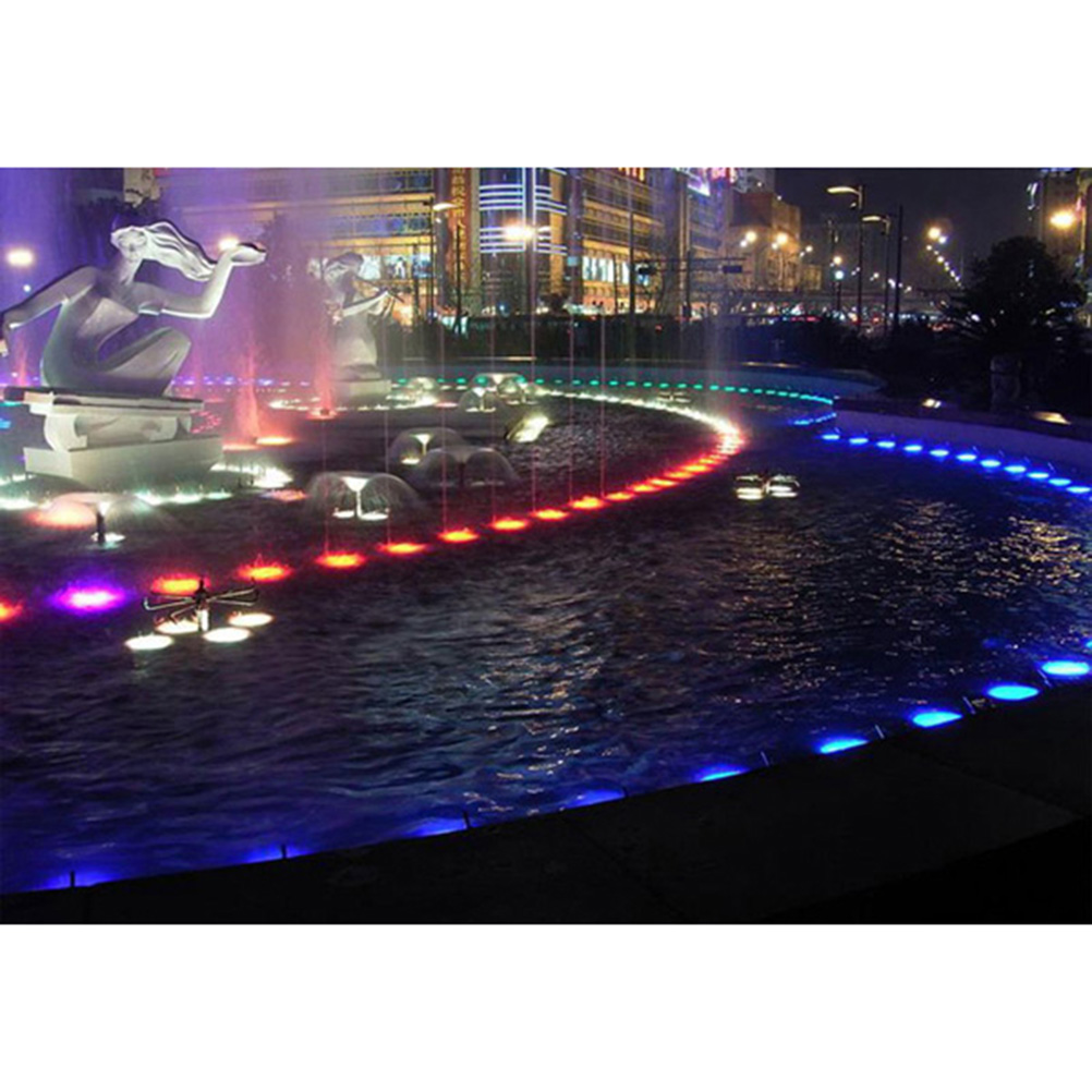 40w 12v Dimmable Rgb Led Underwater Light Waterproof Par56 Ip68 Fountain Swimming Pool Led Lamp