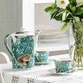 15 наборов костяного фарфора  английский послеобеденный чай  Европейский набор  чайный набор  керамическая кофейная чашка с подарком  черная...