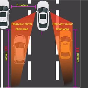 Image 5 - Sistema de detecção de radar, mais novo sistema de detecção de ponto cego, bsd, bsa, bsm, microondas, assistente de monitoramento de ponto cego, carro, dirigir