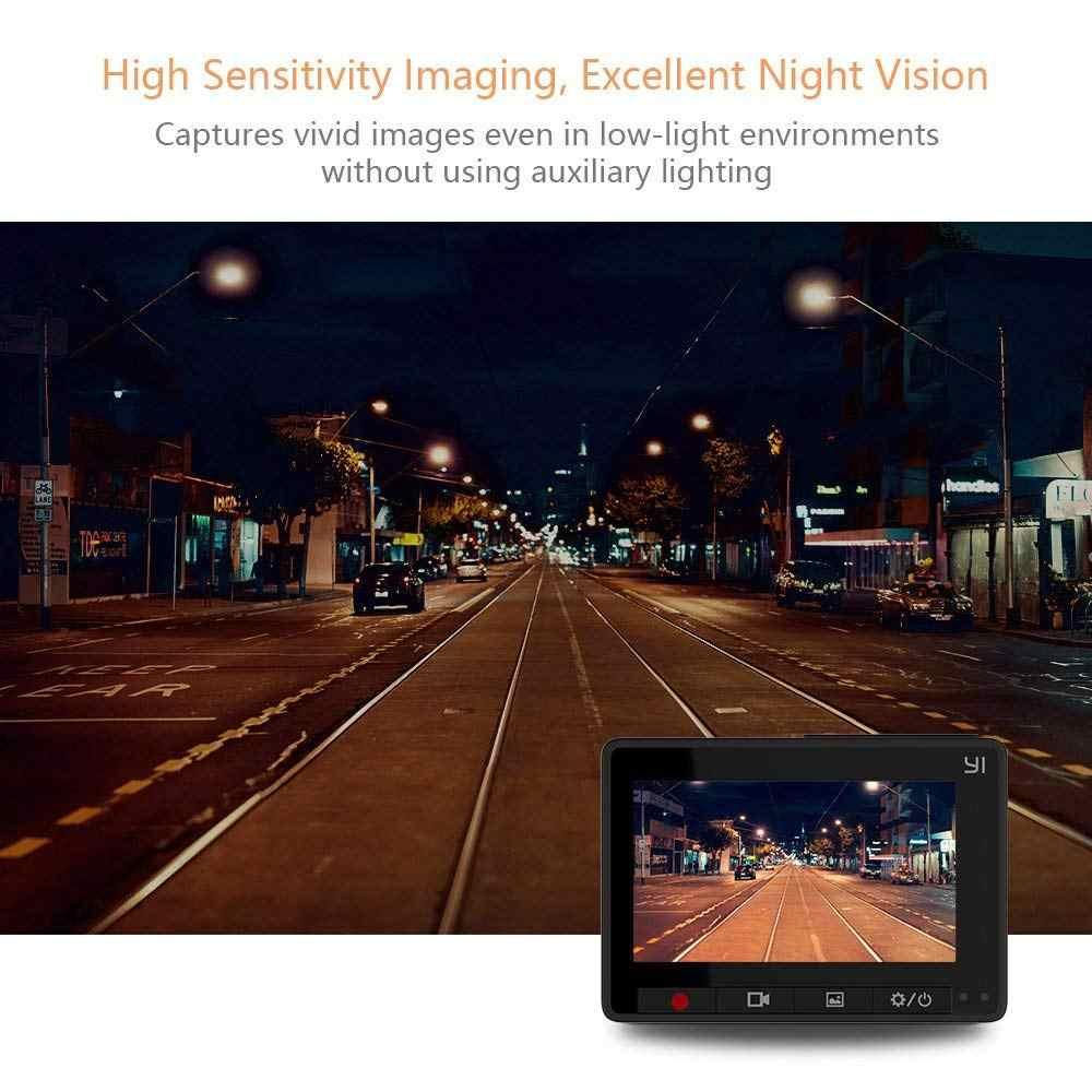 Yi Compact Dash Camera 1080 P Full Hd Auto Dashboard Camera Met 2.7 Inch Lcd-scherm 130 Wdr Lens G-Sensor Nachtzicht Zwart