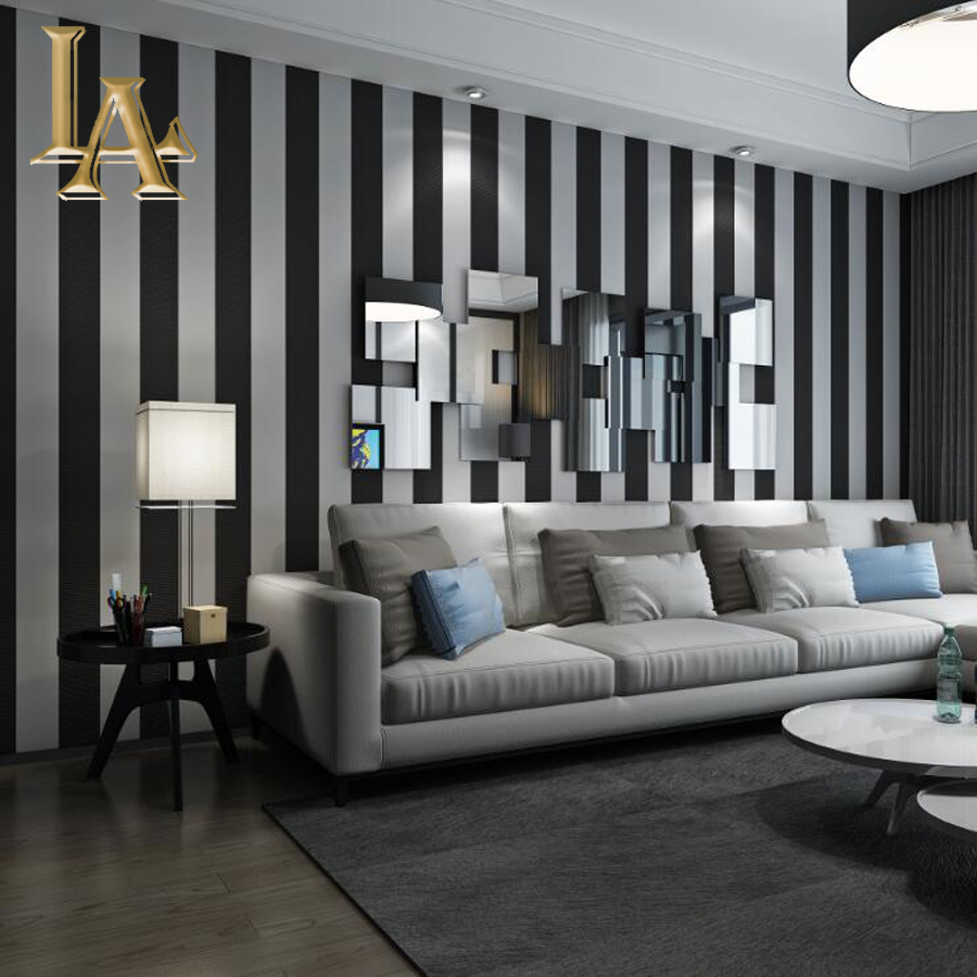 Cozy Fashion 3D Modern Striped Wallpaper For Walls Children's Rooms Bedroom Living room Sofa TV Background Home Wall paper Rolls shinehome black white cartoon car frames photo wallpaper 3d for kids room roll livingroom background murals rolls wall paper