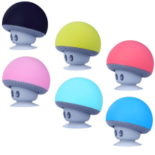 OUTMIX Cartoon Mushroom Wireless Bluetooth speaker waterproof sucker mini bluetooth speaker audio outdoor portable Bracket цены
