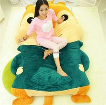 Fancytrader  230cm X 150cm Huge Alvin and the Chipmunks Stuffed Theodore Bed Carpet Tatami Sofa, Free Shipping FT50340
