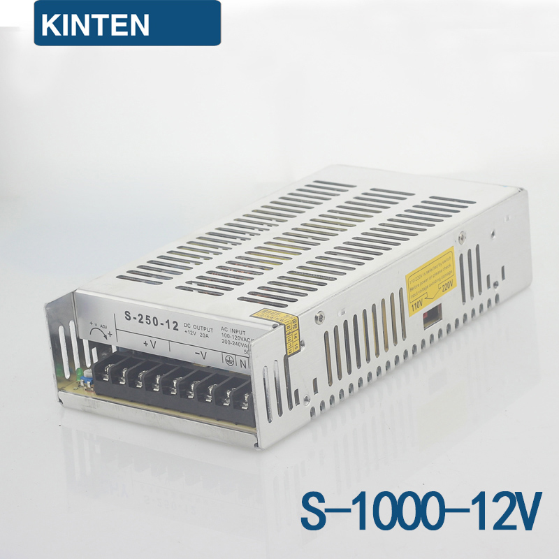 S-1000-12 series switching power supply monitoring power LED power transformer power 1000W12V83A
