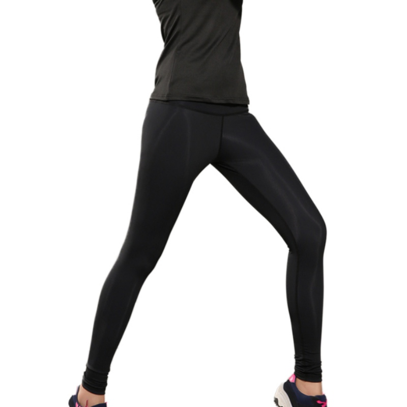 781cd4a2d93e2 Super Stretchy Solid Sports Legging Women's Compression Explosive Sweat  Pants Workout Leggings Hip Push Up Stretch Casual Pants -in Pants & Capris  from ...