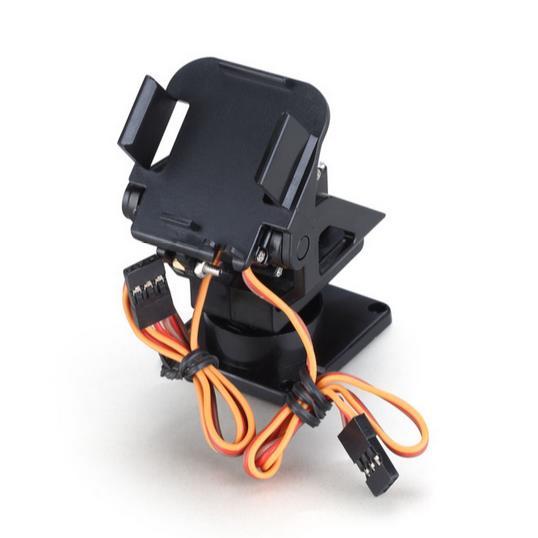 5sets Servo Bracket Pt Pan/tilt Camera Platform Anti-vibration Camera Mount For Aircraft Fpv Dedicated Nylon Ptz For 9g Sg90