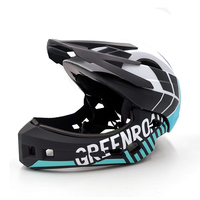 Child Adult Cycling Helmets OFF ROAD DH mountain mtb Bike Bicycle Children Helmets Sport Safety full face Hat
