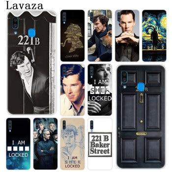 221B soy Sherlock Holmes collar funda para teléfono popular para Samsung Galaxy A10 A20 A30 A40 A50 A60 A70 M40 M30 M20 M10 A20e