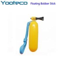 Gopro acessórios bobber floating handheld vara floaty para go pro hero 4 3 + 3 2 1 eken h9 xiaomi yi sjcam sj4000 câmera de ação