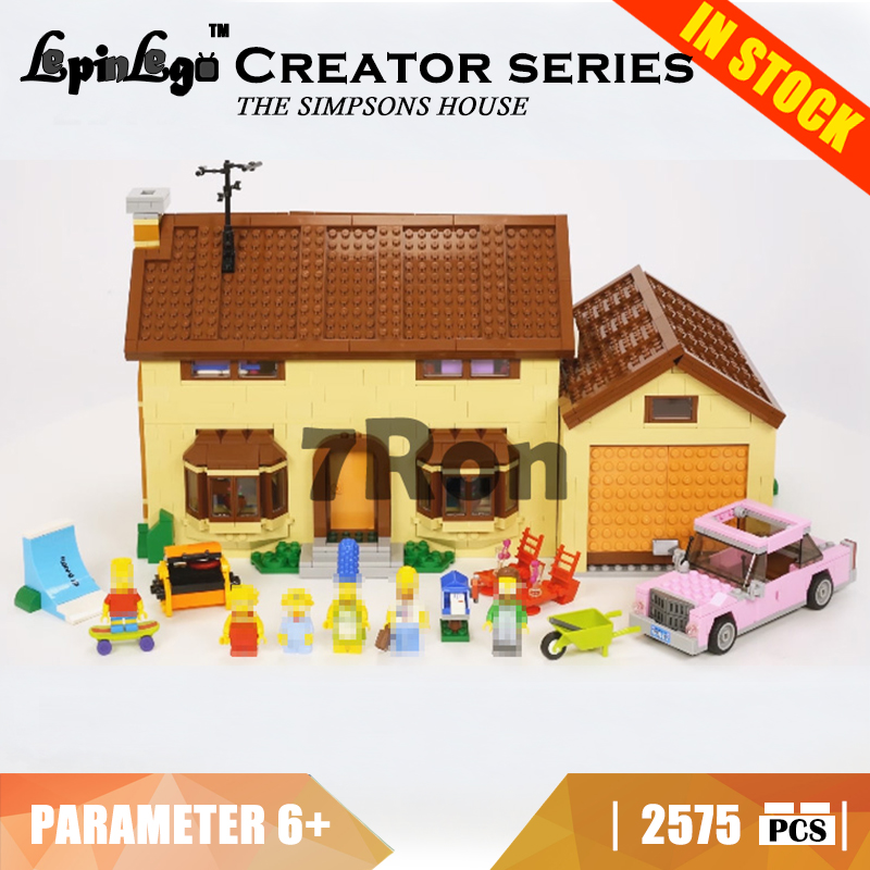 16005 Compatible with Lego blocks creator 71006 The Simpsons House Model building toys hobbies bricks for children Gift Kids children deformation car airplane educational building toys blocks for kids gift compatible with lego new in box