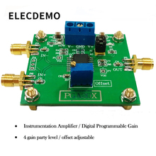 PGA205 Module Digital Gain Amplifier PGA204 Instrumentation Bias Adjustable Low Offset