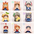 NEW hot 8cm 9pcs/set Himouto! Umaru-chan Himouto Umaru chan cosplay love live collectors action figure toys Christmas gift toy