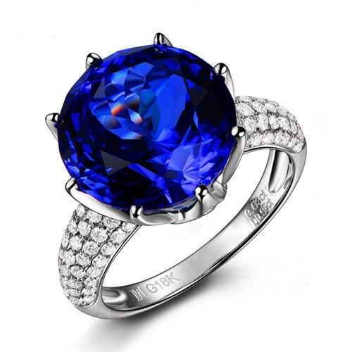 3017 Anillos Qi Xuan_Fashion Jewelry_Big Blue Stone Elegant Woman Rings_S925 Solid Silver Fashion Rings_Factory Directly Sales anillos qi xuan