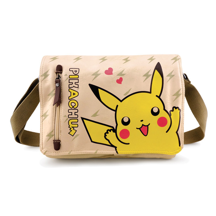 hot game pokemon go bag cartoon canvas WOW bags cute female mansingle shoulder school bag AB376
