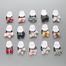 10/20/50Pairs Dog Hair Bows Cute Bowknot  Teddy Yorkshire Maltese hair Rope Pet Grooming Clips Accessories
