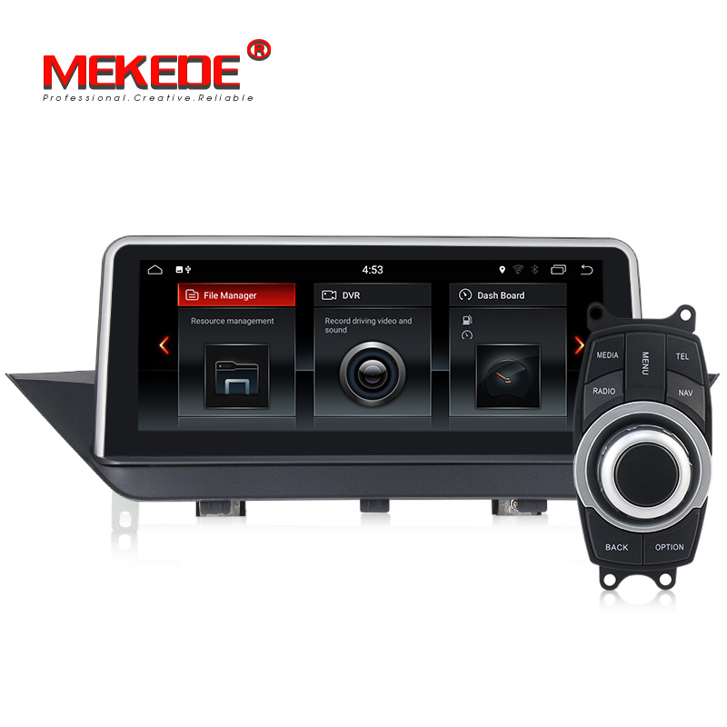 New arrival! ID6 UI 2GB+32GB android 7.1 system Car Multimedia player Autoradio for BMW X1 E84 2009-2015 with gps navigation набор автомобильных экранов trokot для bmw x1 e84 2009 2015 на задние двери