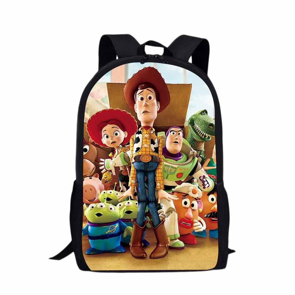 ... School Orthopedic Backpack Cartoon Woody Toy Story Satchel School Bags  Children Waterproof Schoolbag Mochila Escolar Feminina ... bf49cde39edcf