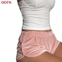Women's shorts OOTN DK003 Soft Velvet