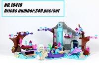 10410 Dziewczyna's Spa Tajne Naida bajki Klocki Przyjaciele Zbudowania cegły zabawki Kompatybilny legoes prezent zestaw dzieciak Elfy bajki dziewczyna