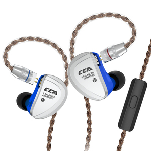 Image 5 - CCA C16 8BA Drive Units In Ear Earphone 8 Balanced Armature HIFI Monitoring Earphone Headset With Detachable Detach 2PIN Cable