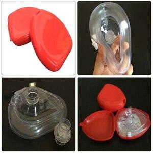 Image 1 - شحن مجاني CPR الإنعاش الإنقاذ الإسعافات الأولية في حالات الطوارئ أقنعة CPR قناع تنفس الفم التنفس في اتجاه واحد صمام أدوات