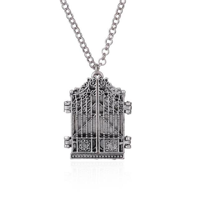 OBSEDE Vintage Photo Frame Locket Charm Necklace Ancient Silver ...