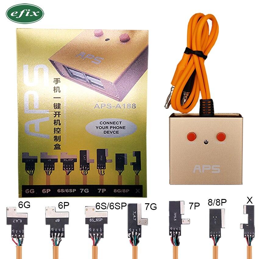 IPower Pro Câble D'alimentation Pour iPhone 6g/6 p/6 s/6SP/7g/ 7 p/8g/8 Plus/X DC Power Control Test Alimentation Ligne de Démarrage Avec SUR /OFF