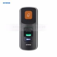 DIYSECUR 1000 Người Sử Dụng Vân Tay 125 KHz RFID Card Reader 2 In 1 Door Lock Access Controller Kit Vỏ Nhựa