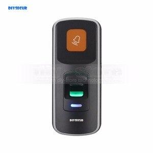 Image 1 - DIYSECUR 1000 Utenti Impronte Digitali 125 KHz RFID Card Reader 2 In 1 Door Lock Access Controller Kit Guscio di Plastica