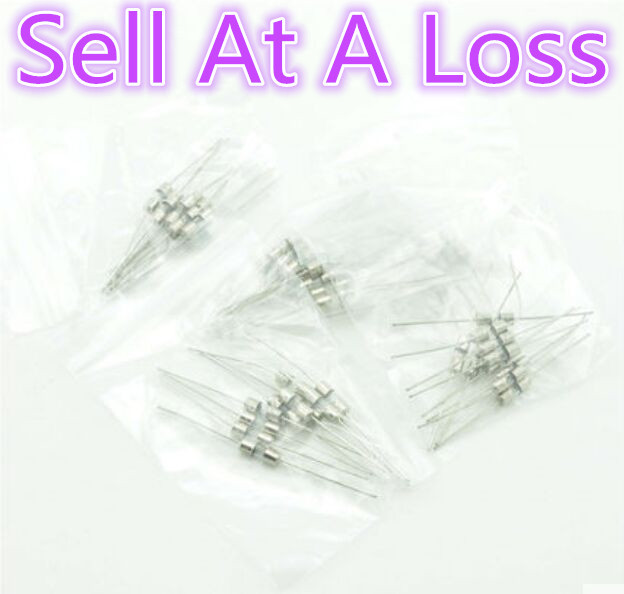 50pcs/lot M125B 3*10mm 5 Values FUSE Assorted Kit With Pin Electronic Components 0.1A 1A 2A 3A 5A Sell At A Loss USA