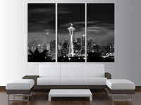 Modern Colorful Photo Picture chicago Room Decor Cities Canvas Art Painting Picture Photo Living Room Bedroom Decor