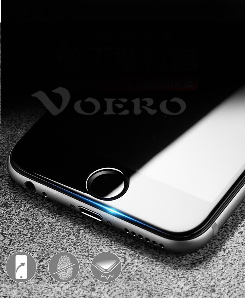 voero премиум полное покрытие 3д закаленное стекло для iPhone 6 с 6 с 7 7 плюс экран протектор для iPhone 7 на 6 с плюс защитить стекло флим