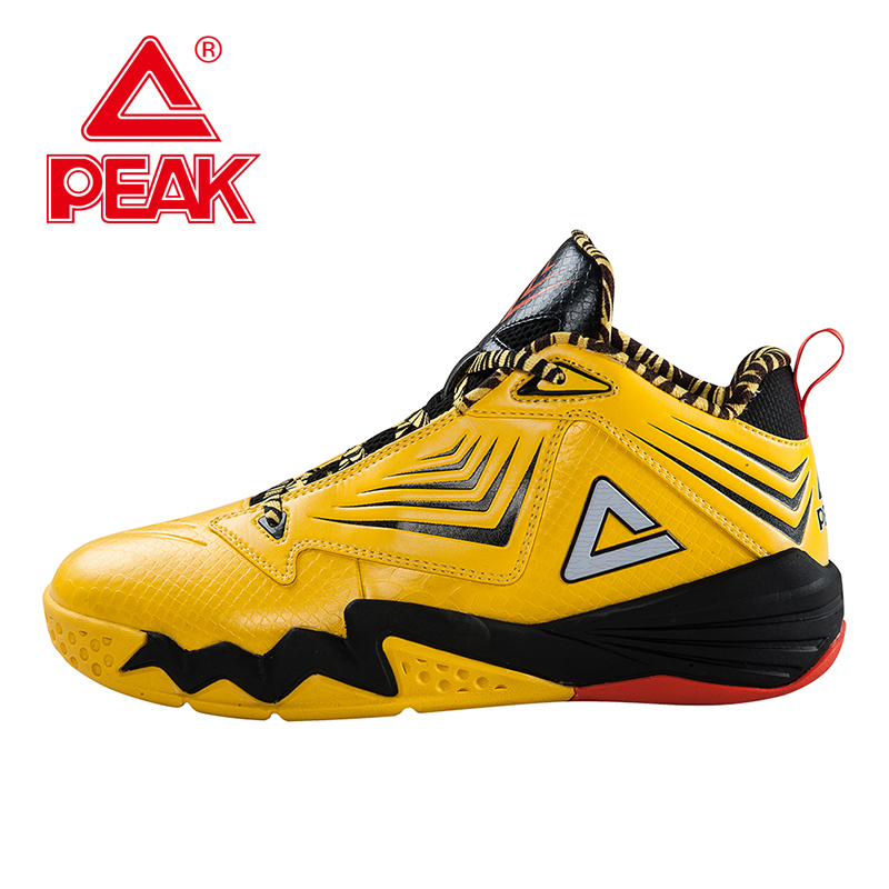 PEAK SPORT Monster II-III All-Star Authent Men Basketball Shoes Damping Wear FOOTHOLD Tech Breathable Athletic Sneakers Boots peak sport lightning ii men authent basketball shoes competitions athletic boots foothold cushion 3 tech sneakers eur 40 50
