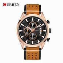 цена на CURREN 2019 Fashion Quartz Watch Men Watches Top Brand Luxury Male Clock Business Mens Wrist Watch Hodinky Relogio Masculino