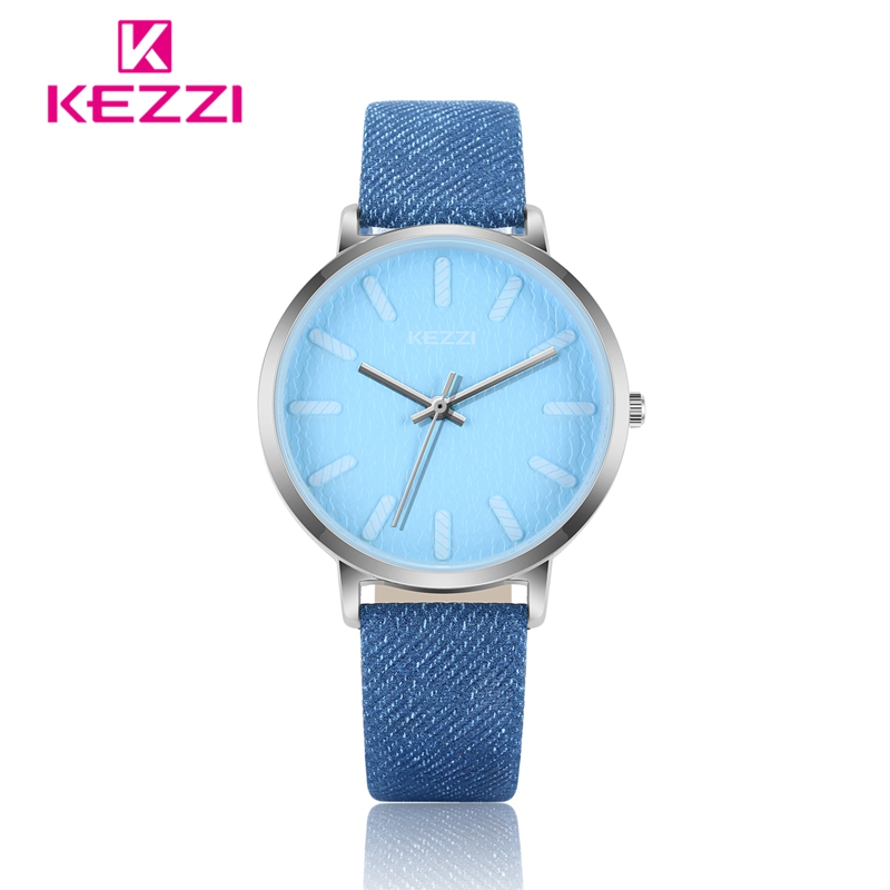 KEZZI Dameshorloge Casual Topmerkhorloge Dames Klok Denim Blauw - Dameshorloges - Foto 4