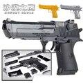 43-45 Шт. Высокое качество Блоки Desert Eagle Пистолет Игрушечный Пистолет и Оригинальной Упаковке Cross Fire CF CS Косплей игрушки
