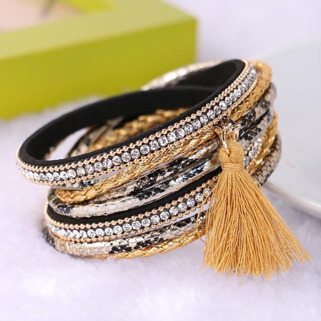 Women's Braided Multilayer Brazilian Bracelet