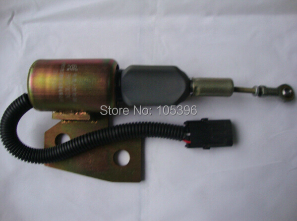 Fast cheap shipping Fuel shutdown solenoid 3991167 for 4BT engine fast free shipping fuel shutdown solenoid 1751es 12a3uc12b1s hyundai excavator r60 5 for yanmar engine