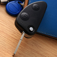 Car Replacement Key Shell 2Buttons Flip Keyless Entry Remote Fob Case Cover Blade for Alfa Romeo 147 156 GT