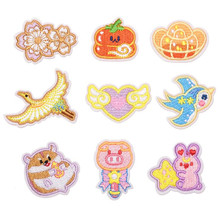 Cartoon Animal Badge Repair Patch Embroidered Patches Iron On For Clothing Close Shoes Bags Badges Embroidery