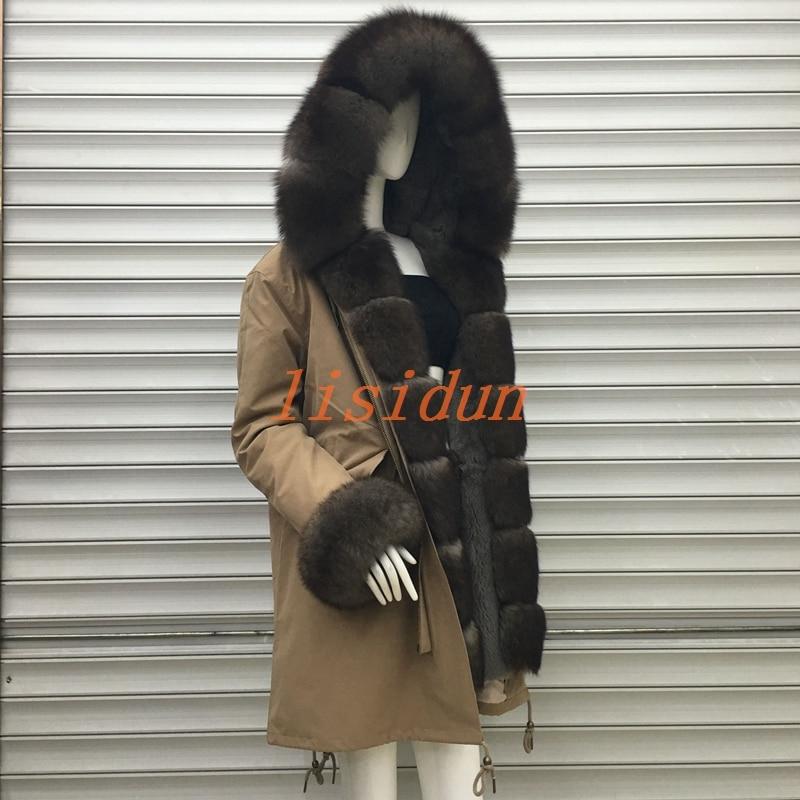 Fourrure de renard manteaux, naturelles longue jupes, femmes de chapeaux, super fourrure de vison, Rex, lapin cheveux, doublure, sable, grand collier de cheveux.