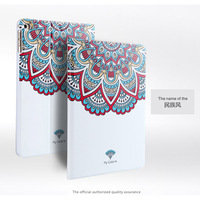 For Apple IPad Mini Luxury Fashion 3D Embossing Painted Magnetic PU Leather Case Smart Cover For