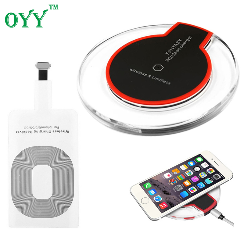 universal qi wireless charger charging pad original for. Black Bedroom Furniture Sets. Home Design Ideas