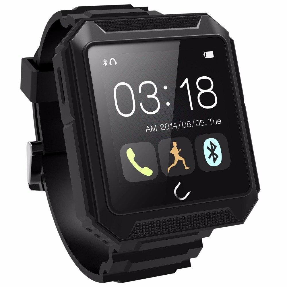 18 santé extérieure Bluetooth U terra montre intelligente étanche IP68 anti-poussière antichoc boussole capteur pour Camping randonnée course Sport