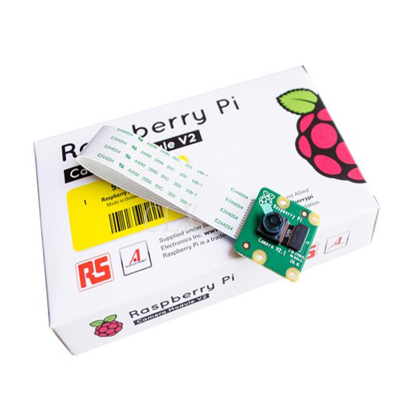V2.1 Original 8MP Raspberry Pi 3 Camera Module 8 Megapixel IMX219PQ Sensor 8MP Raspberry Pi Camera Support 1080P 720P VGA90