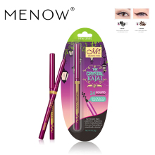 MENOW Brand Rotate Eyeliner Make up Eye Shadow Liner Combination Cosmetic Matte Waterproof 2 color Eyeliner
