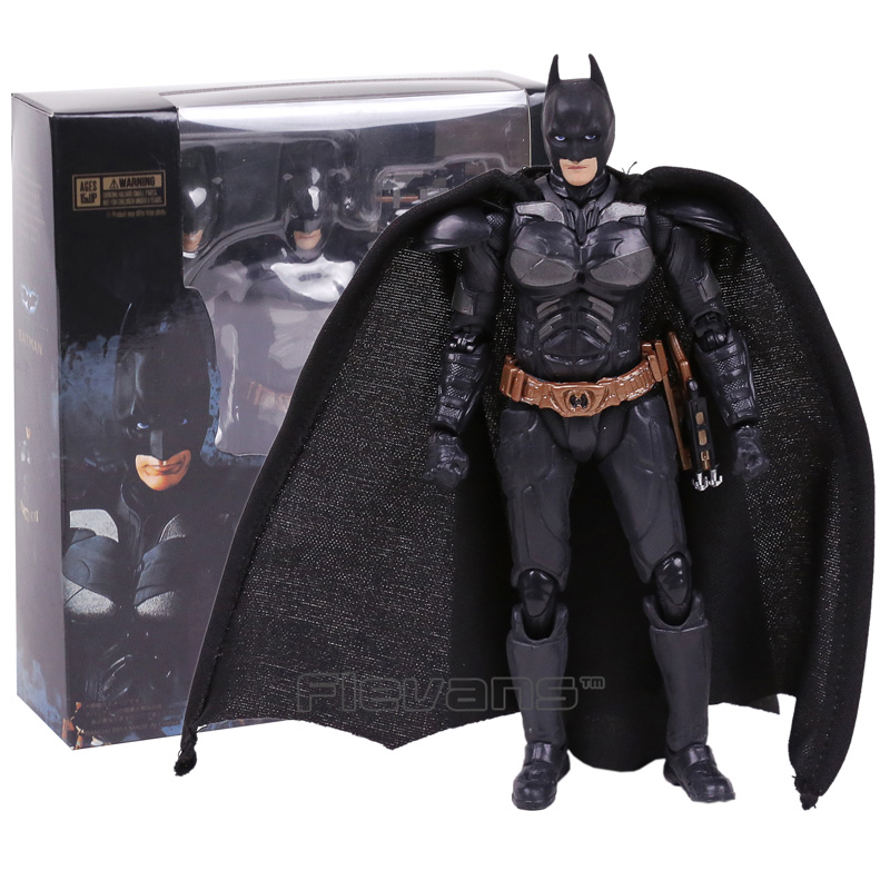 SHFiguarts Batman The Dark Night PVC Action Figure Collectible Model Toy 15.5cm transformation robot the last night age of extinction deluxe class figure dark guard exclusive collectible toys