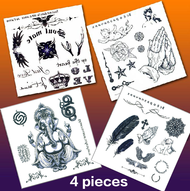 Owl Tattoo Temporary Tattoos Elephant Tattoo Flash Tattoos Jewelry