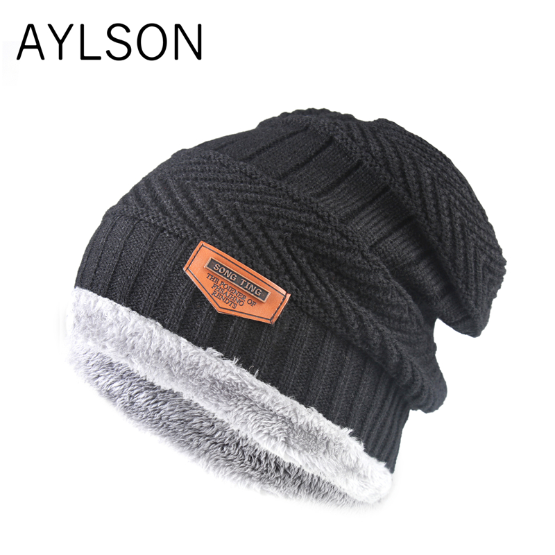 2019 new autumn winter peas hat pompom men warm women knit cotton thickened cold hat fashion flawless urinals soft material