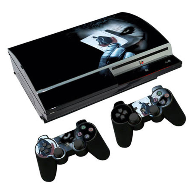 조커 비닐 스킨 PS3 지방 콘솔 스티커 커버 플레이 스테이션 3 지방 컨트롤러 Controle Gamepad Mando Decal